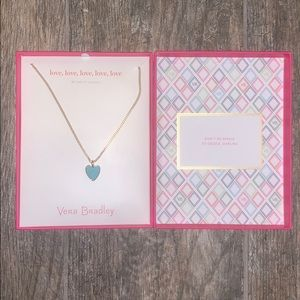 Vera Bradley Heart Necklace